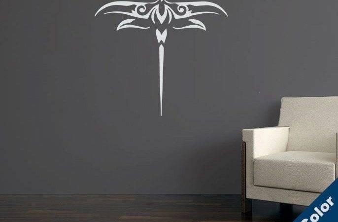 Urban Decal Decorative Dragonfly Wall