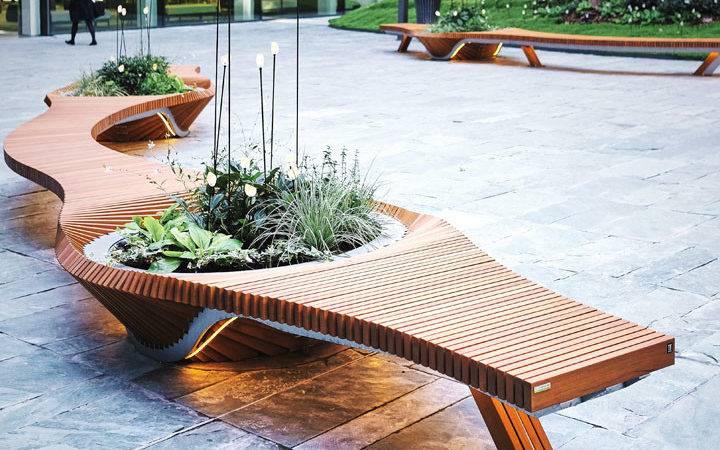 Urban Design Metal Furniture Outdoor Public Spaces