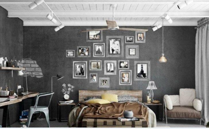 Urban Indusrtial Bedroom Design Ideas Jpeg