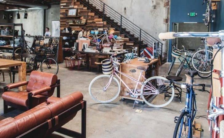 Urban Industrial Bike Shop Coffee Arts