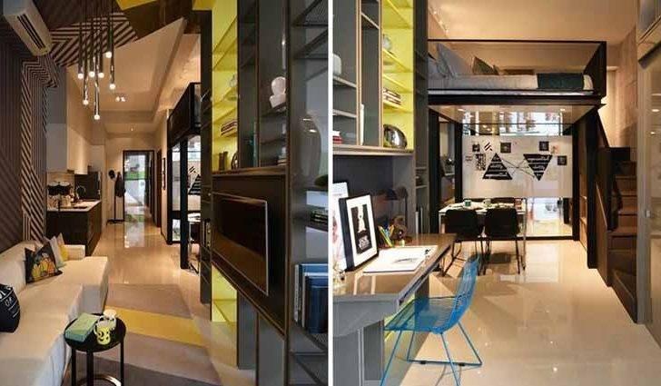 Urban Oasis Condo Showflat Bedroom Loft Living Hall Furniture Deck