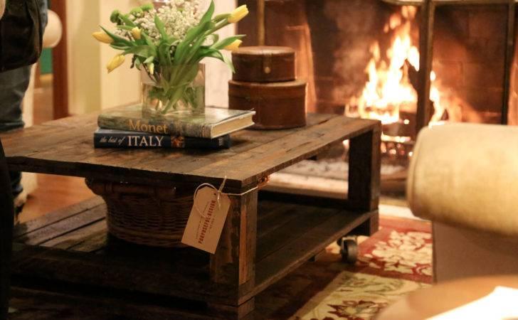Urban Rustic Coffee Table Purposeful Design
