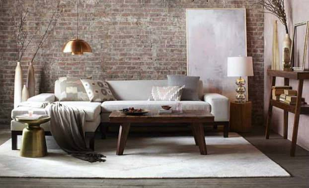 Urban Rustic Living Room