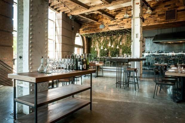 Urban Rustic Restaurant Design Caption