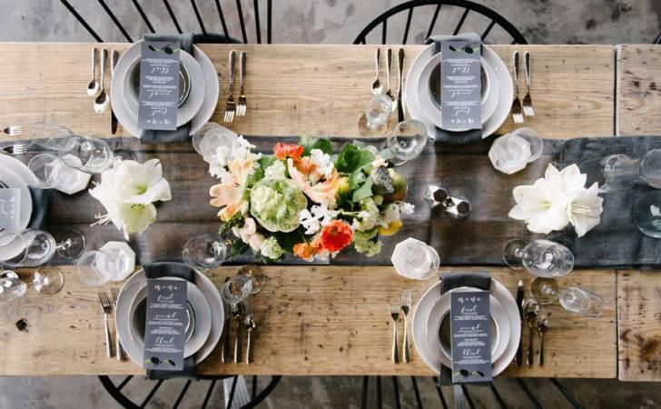 Urban Rustic Wedding Reception Virginia Beach Front Main