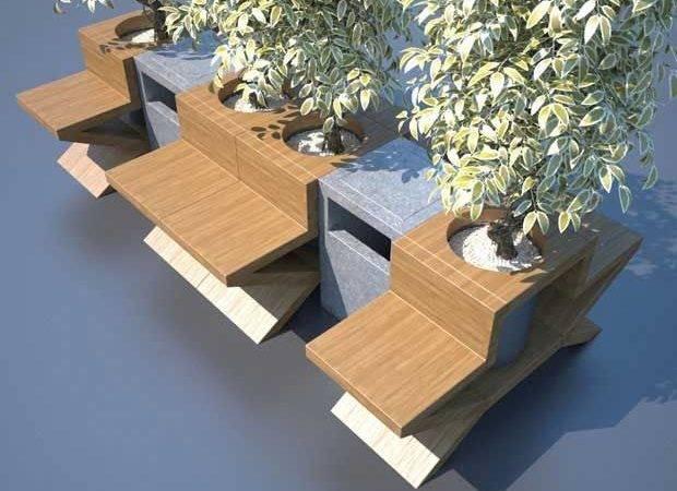 Urban Space Furniture Design Serhan Yenilmez Cubeme