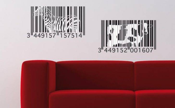 Urban Stickers Animals Bar Codes Those Wall Decals