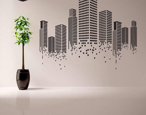 Urban Wall Decal Office Graphics Vinyl