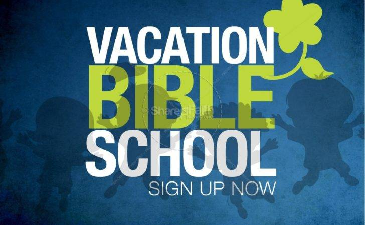 Vacation Bible School Powerpoint Template Sermons