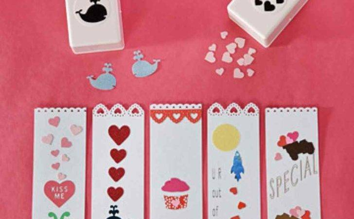 Valentine Day Card Bookmark Photos