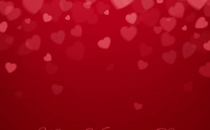 Valentine Day Hearts Vector Illustration