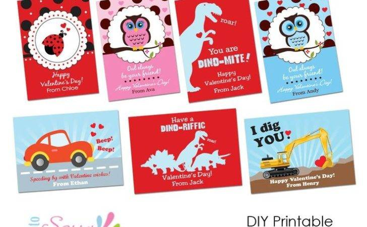 Valentines Bookmarks Owl Day Cards Printable