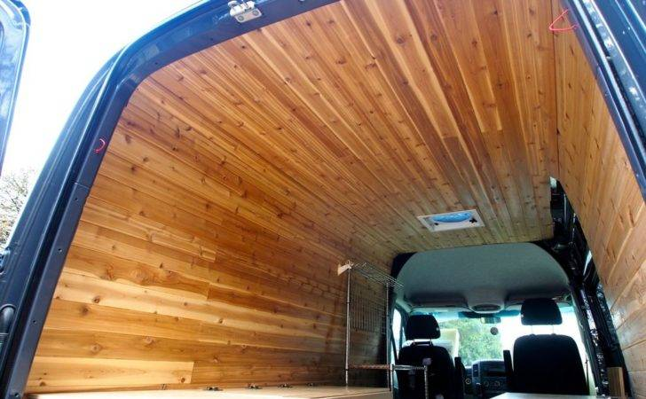 Van Interior Ideas Paneling