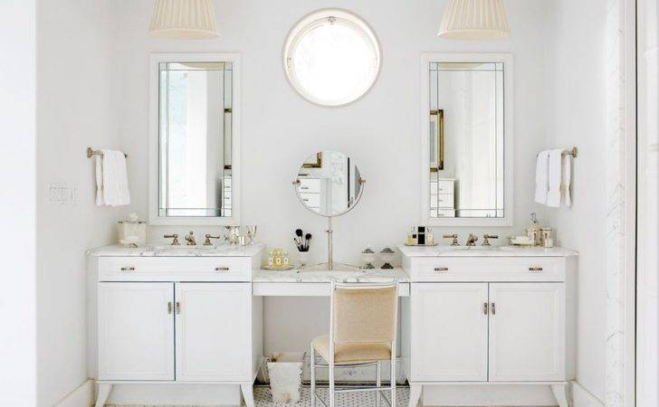 Vanity Seating Home Double Bathroom Vanities Makeup Area