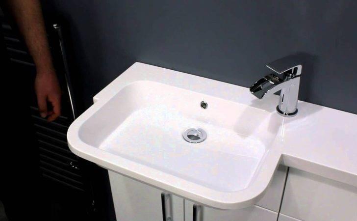 Vanity Unit Industrial Bathroom Lighting Corner Cabinet
