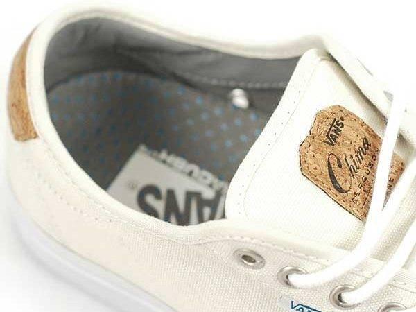 Vans Chima Ferguson Pro White Cork Forty Two Skateboard Shop