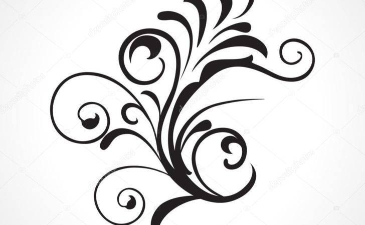 Vector Beautiful Design Black Tattoo Illustration