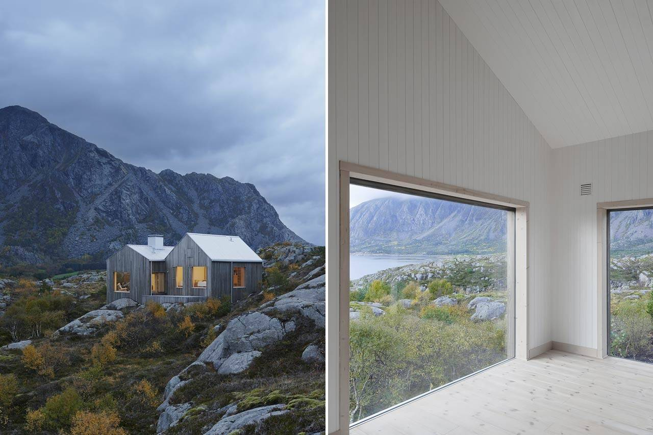 Vega Cottage Norway Kolman Boye Architects