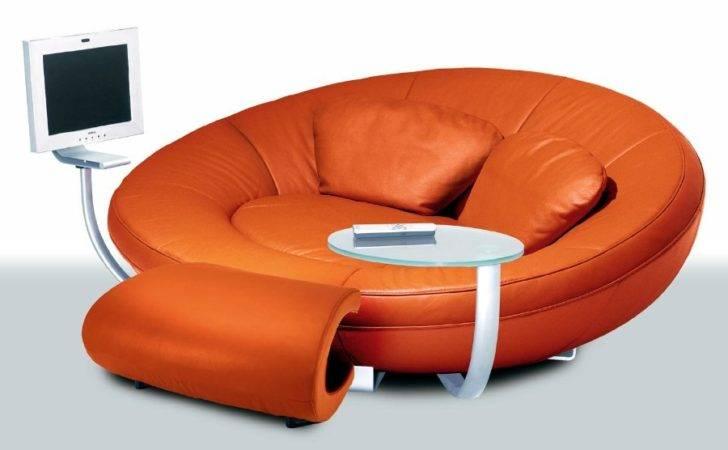 Velvet Ribbon Creates Magic Sofa Spiral Shaped