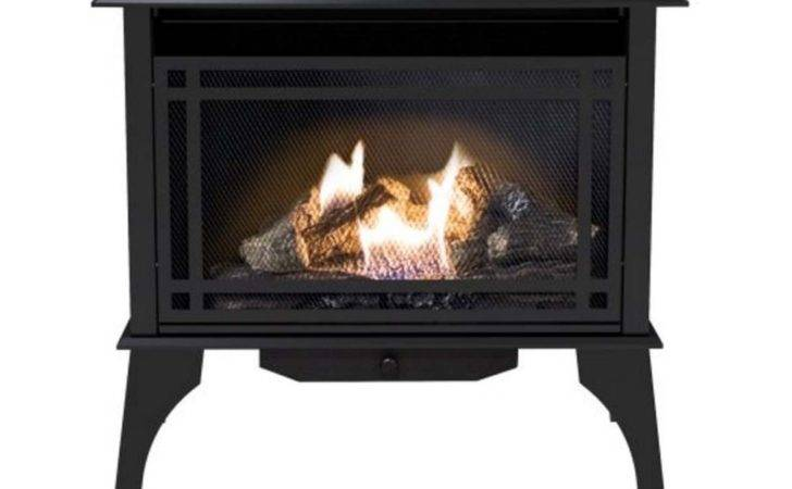 Vent Gas Stove Propane Natural Cast Iron Fireplace