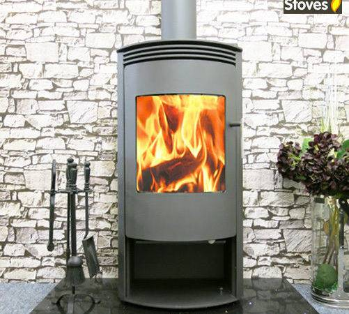 Venus Curved Stove Wood Burning Multi Fuel