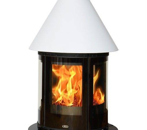 Vermont Freestanding Wood Stove Stone Effect Base