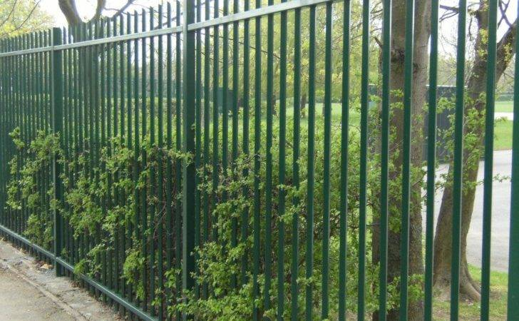 Vertical Bar Fencing Systems Hand Crafted Bespoke