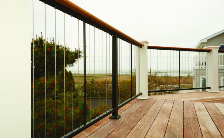Vertical Cable Rail Professional Deck Builder Fencing