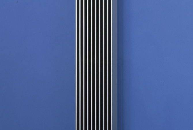Vertical Designer Radiators Finn Bisque
