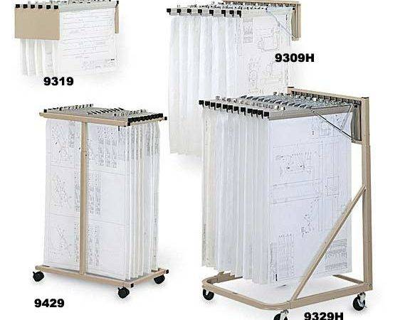Vertical Drawing Files Hopper Office Drafting