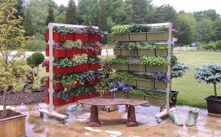 Vertical Gardening Wheels Saugatuck