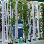 Vertical Hydroponics Pvc Pipe System Pin Pinterest