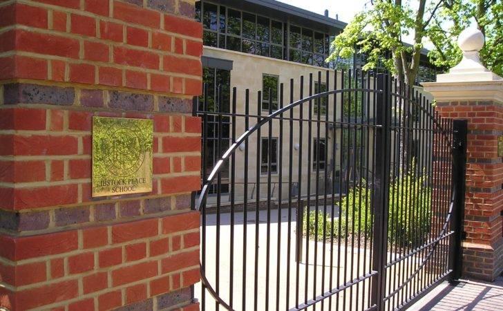 Vertical Steel Railings Parks Schools Housing