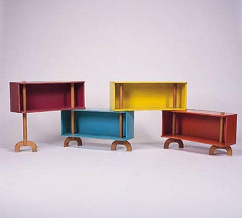 Very Cool Rare Vintage Modern Children Furniture Designed