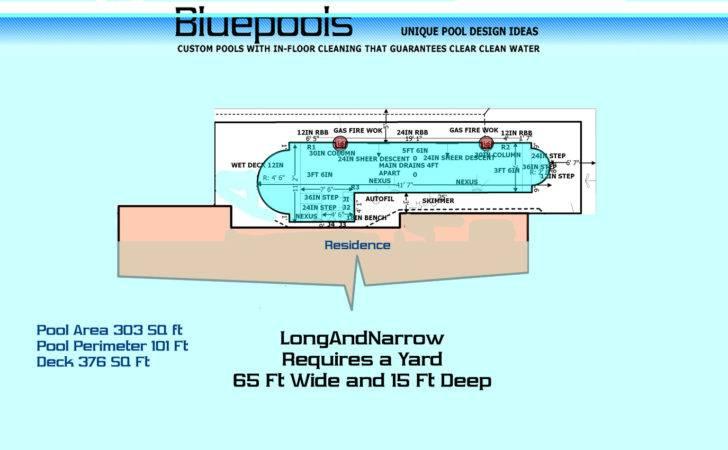 Very Long Narrow Rectangular Pool