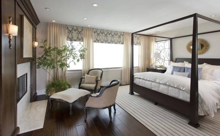 Vibrant Transitional Master Bedroom Robeson Design