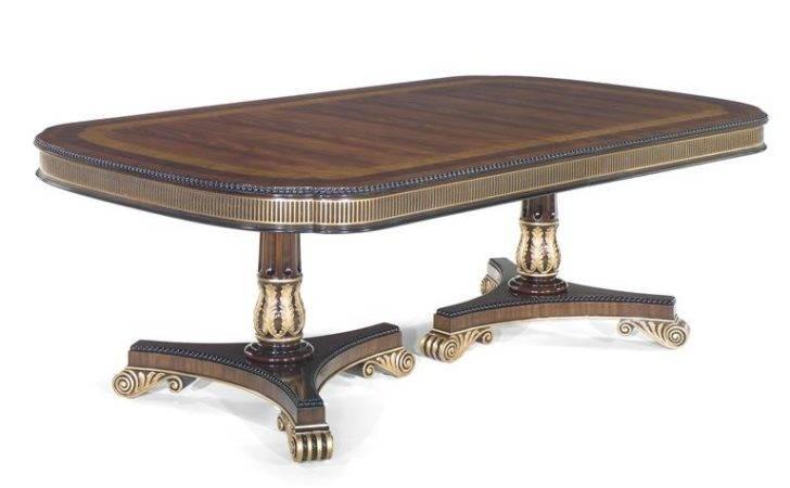 Victor Dining Room Regency Table Norris Furniture