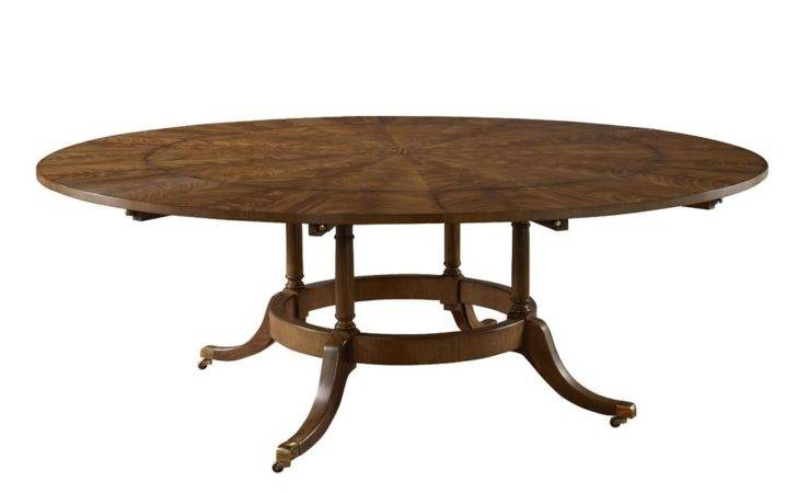 Victor Dining Room Round Table Six Perimeter
