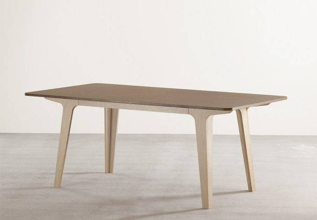 Victor Dining Table Ply Walnut