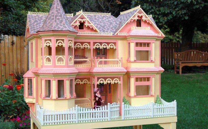 Victorian Barbie Doll House Woodworking Plan