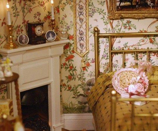 Victorian Bedroom Pretty Love Lit Candles