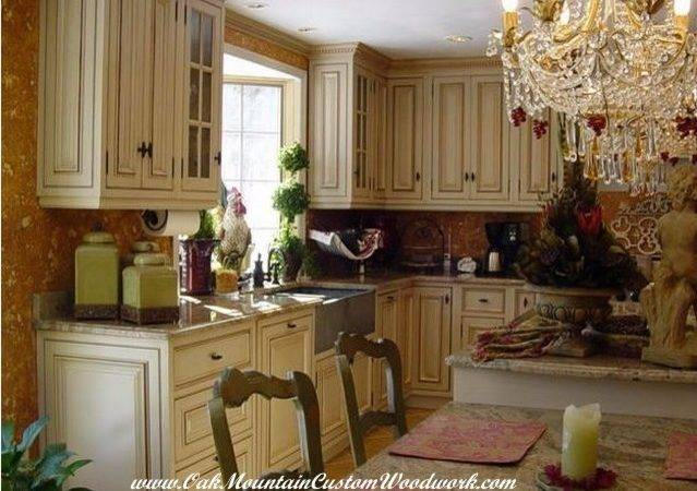Victorian Kitchen White Cabinets Traditional