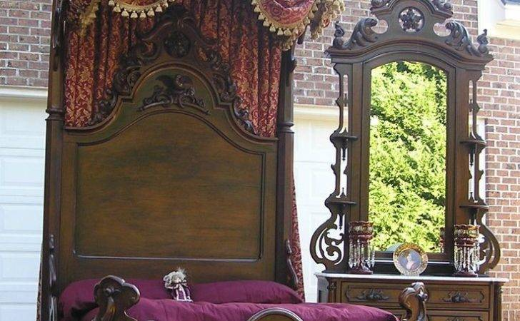 Victorian Rococo Rosewood Bedroom Set Beautiful Think