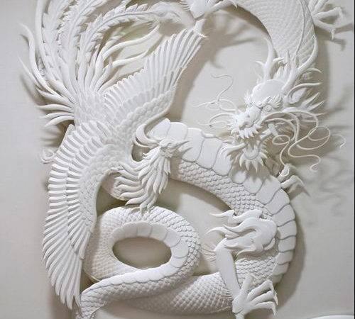 Views Post Subject Paper Sculpture Art