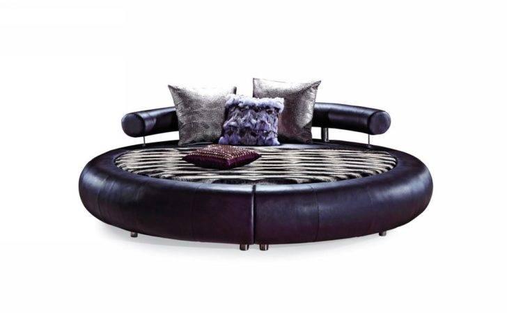 Vig Bedroom Special Order Beds Modrest Modern Round Bed