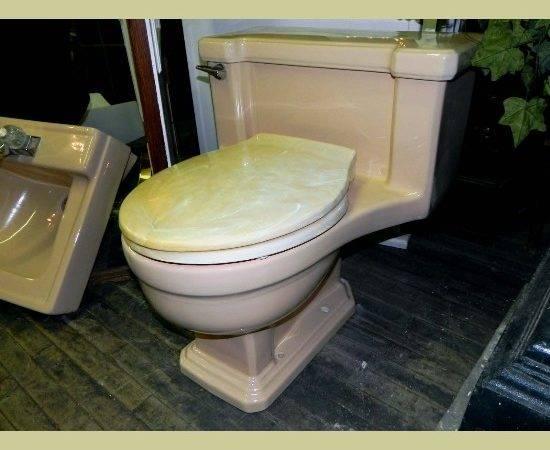Vintage American Standard One Piece Lowboy Toilet