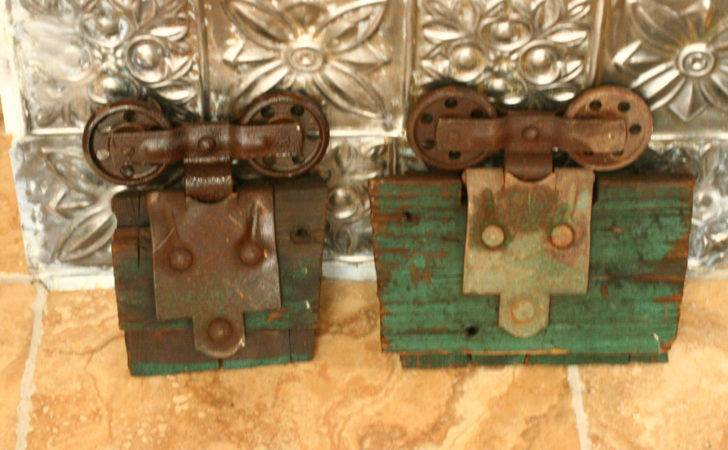 Vintage Barn Door Track Hardware Salvage