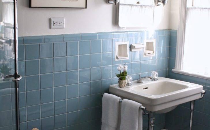 Vintage Blue Bathroom Tiles Ideas