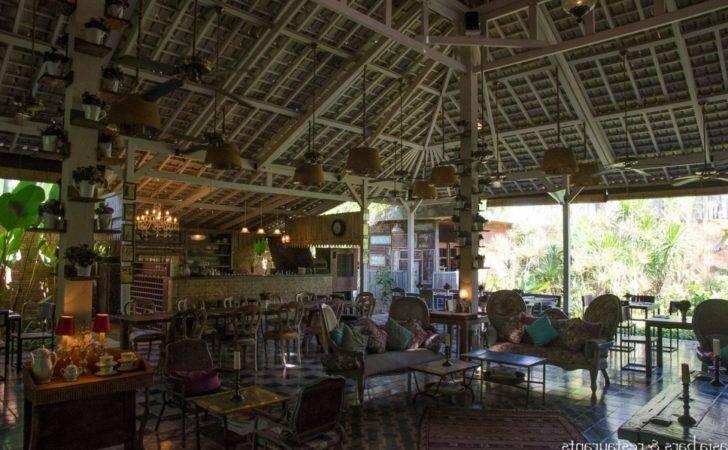 Vintage Cafe Interior Design Balique Restaurant Jimbaran