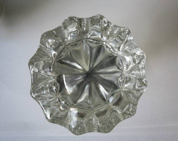Vintage Crystal Glass Door Knob Set Box Insomniavintage